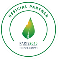 COP21 Official Partner Seal