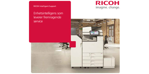 Brosjyrer for RICOH intelligente enheter
